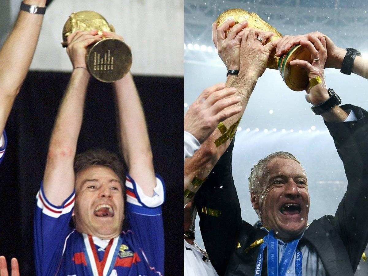 Deschamps triunfó en 1998 y ahora en Rusia 2018