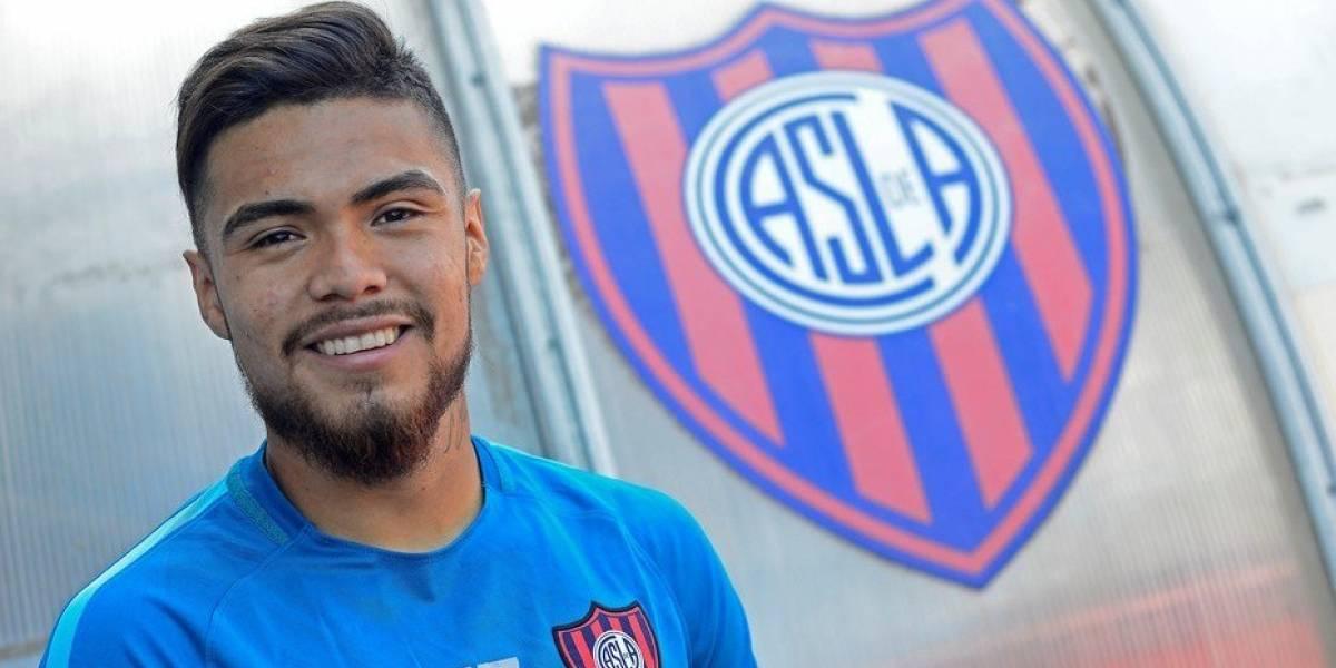 """Paulo Díaz ahora es central en San Lorenzo y por ahora le dice no a Europa: """"Estoy contento acá"""""""