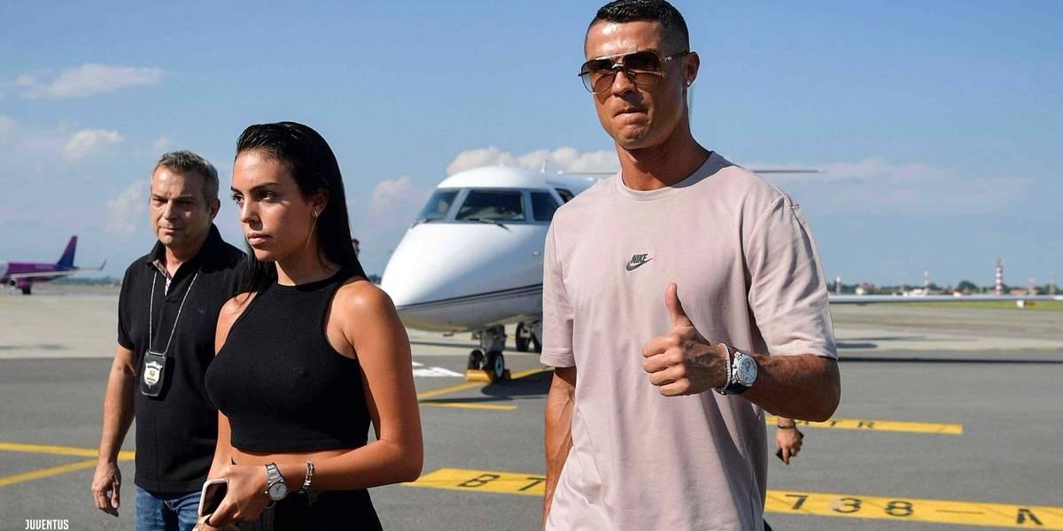 De locos: Juventus transmitió cada instante de la llegada de su estrella Cristiano Ronaldo a Turín