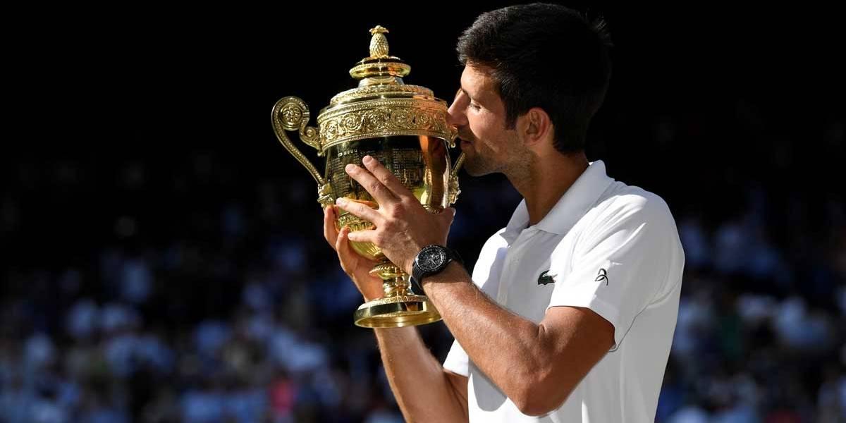 Djokovic vence o torneio de Wimbledon pela 4ª vez