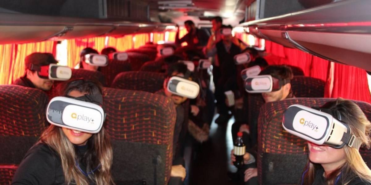 ¡Adiós viajes fomes! Realidad virtual llega a los buses interurbanos