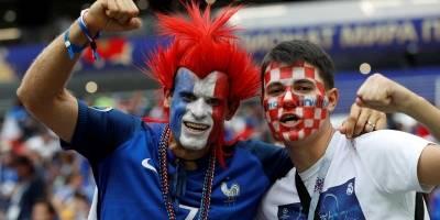 torcida França x Croácia