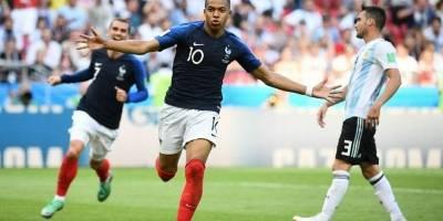 Francia derrotó a Argentina