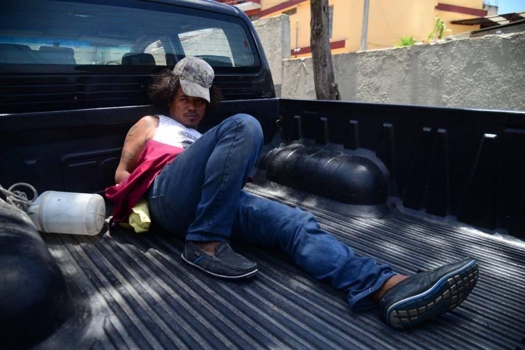 Franklin Baltazar aceptó haber cometido el crimen contra la mujer. Foto: Alejandro García