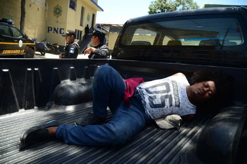 El sospechoso del crimen dijo temer porque le pase algo a su familia. Foto: Alejandro García