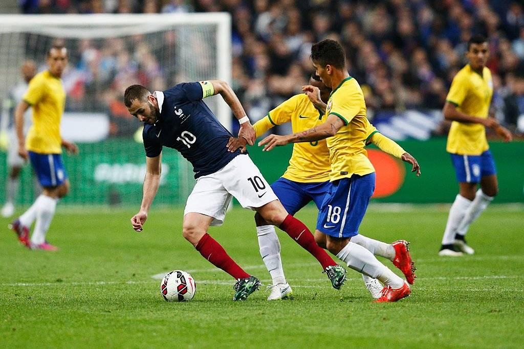 Benzema llegó a ser capitán de Francia tras el mundial de Brasil 2014 / Foto: Getty Images