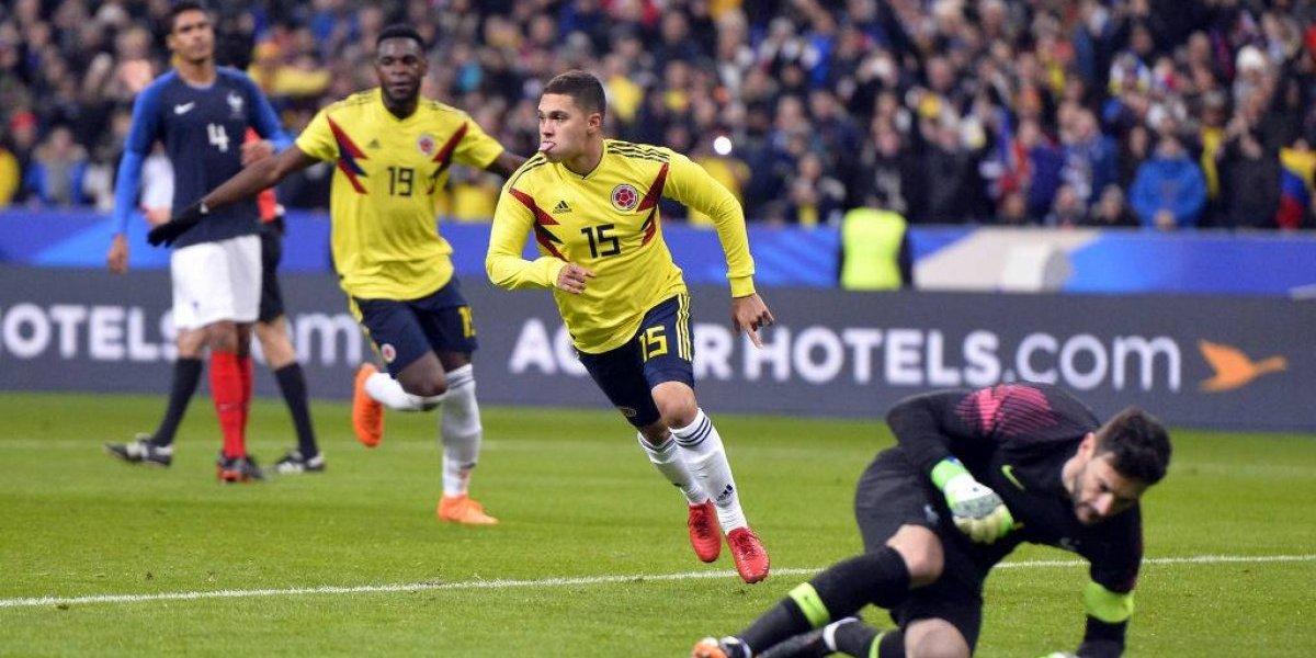 Colombia, el único que fue capaz de ganarle al campeón del mundo Francia en 2018