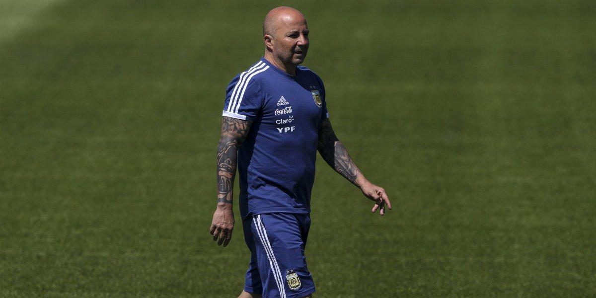 La AFA desvincula a Sampaoli como entrenador de Argentina