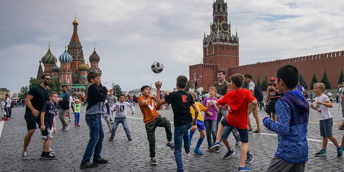 Rusia cambia su imagen país