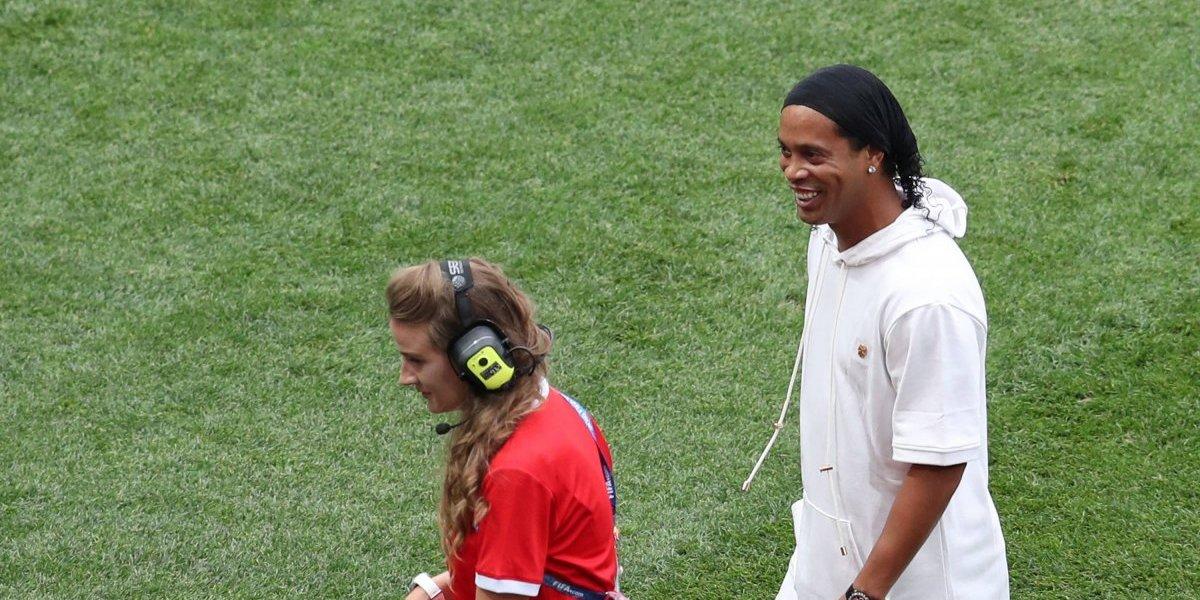 VIDEO: Ronaldinho alegra la Final de Rusia 2018