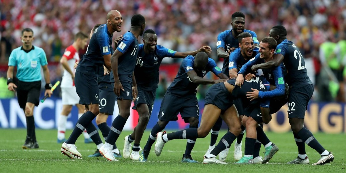 Con el título en Rusia, Francia iguala a Argentina y Uruguay