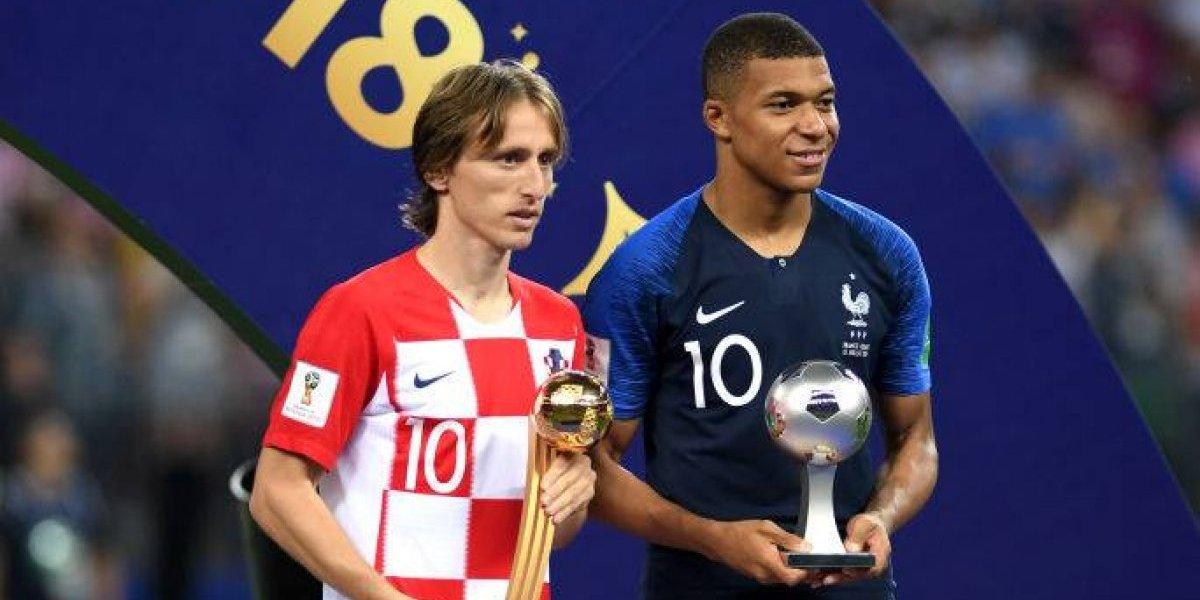 Perdió la final, pero fue el mejor jugador: Luka Modric ganó el Balón de Oro de Rusia 2018