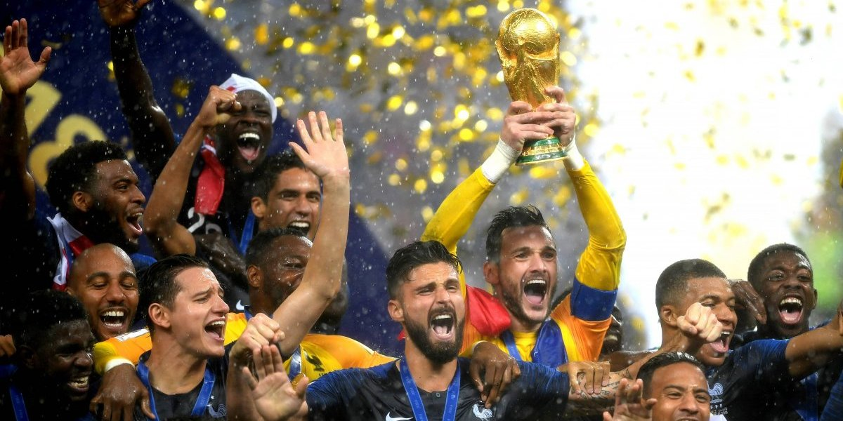 Francia entró en la galería de los grandes tras ganar una infartante final a Croacia y es el campeón de Rusia 2018