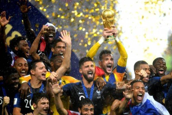 La celebración de Francia / imagen: Getty Images