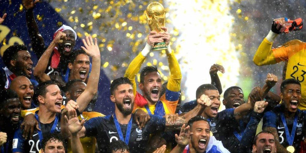Francia se corona como campeón del mundo por segunda vez en su historia