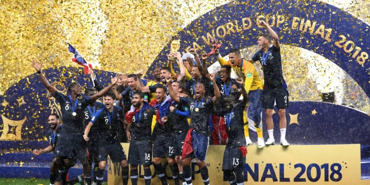 Uno a uno de Francia: Griezmann, Pogba, Kanté, Varane y Mbappé tiraron el carro del campeón del mundo
