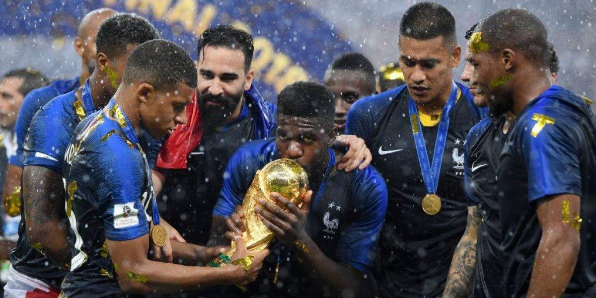 """""""Belle Époque"""" y """"El Mundo es de Francia"""": el planeta se rindió ante el campeón de Rusia 2018"""