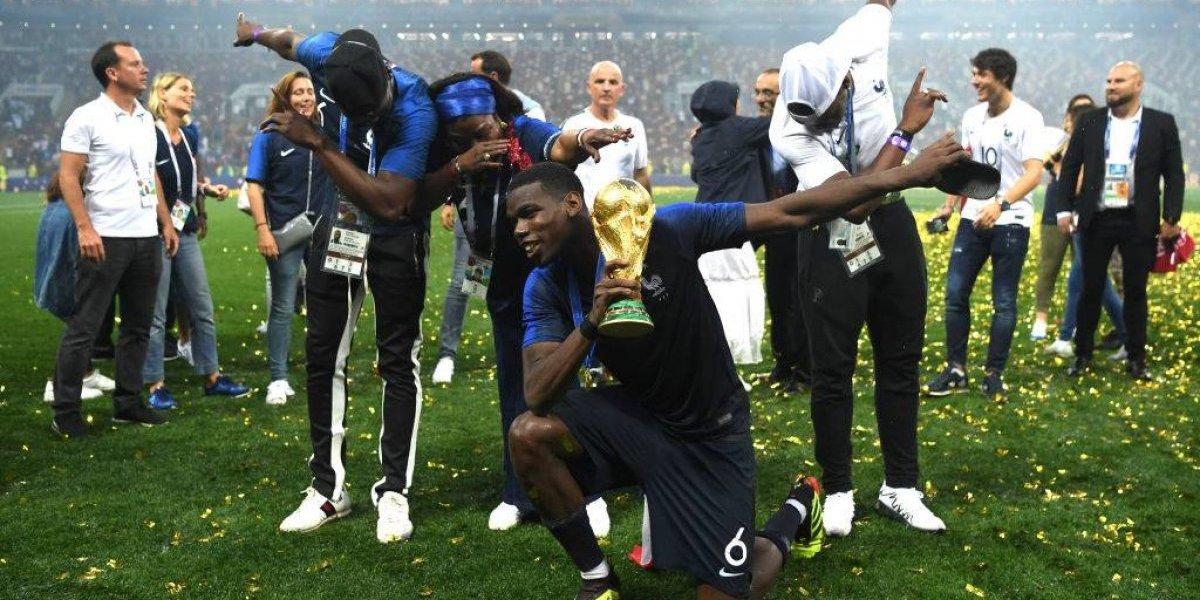 Pogba tuvo un show propio en la final del Mundial: acalló críticas, se sacó fotos e hizo un golazo