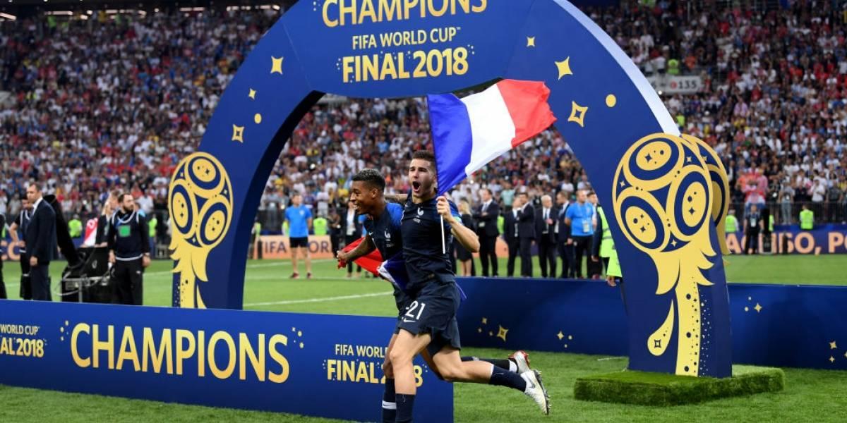 El delirio en Instagram y Twitter del plantel de Francia al obtener la gloria en Rusia 2018