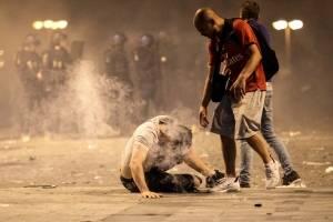Disturbios Francia