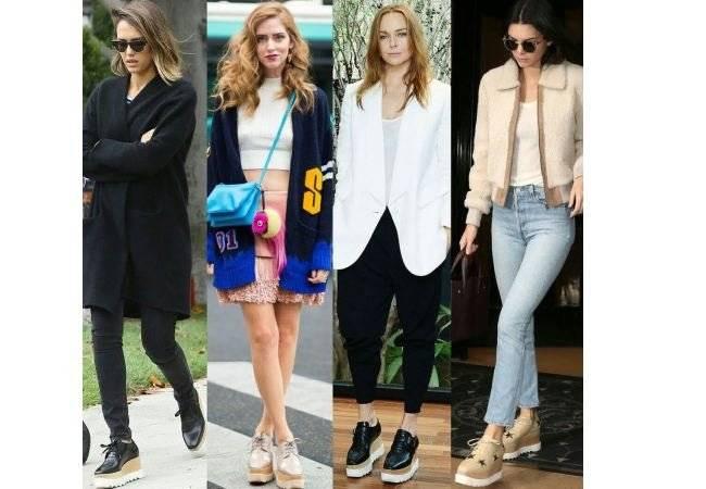 Zapatos flatform