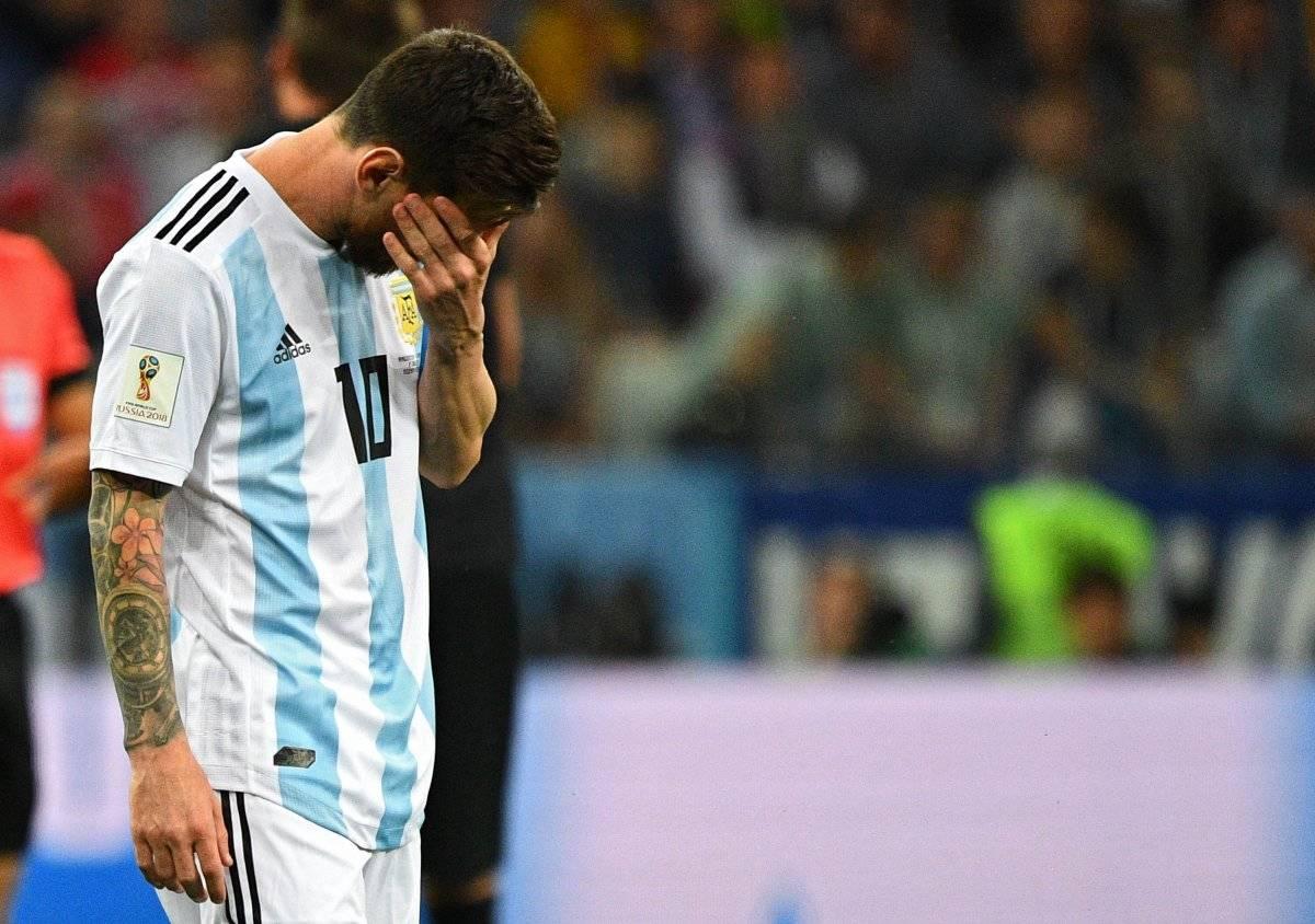 Lionel Messi quedó en deuda en el Mundial.