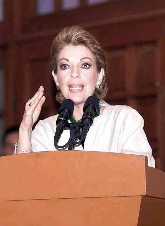 Martha Sahagún de Fox Foto: Especial