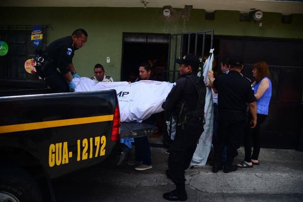 Mujer asesinada en la zona 6