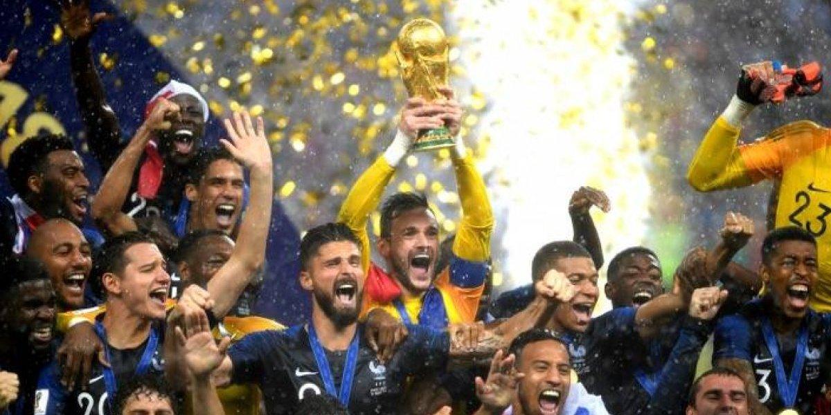 Francia es campeón del mundo tras vencer 4-2 a Croacia