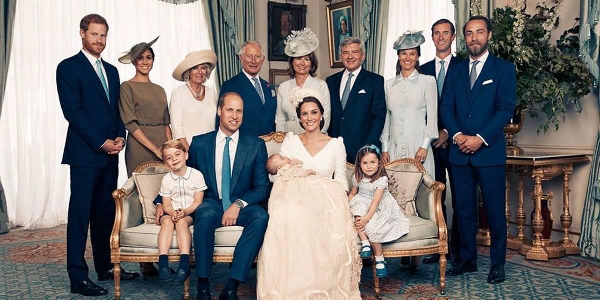 ¡Adorables! Estas son las fotos oficiales del Bautizo del Príncipe Louis