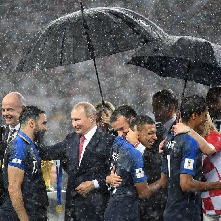 Putin felicita por el título a Rami
