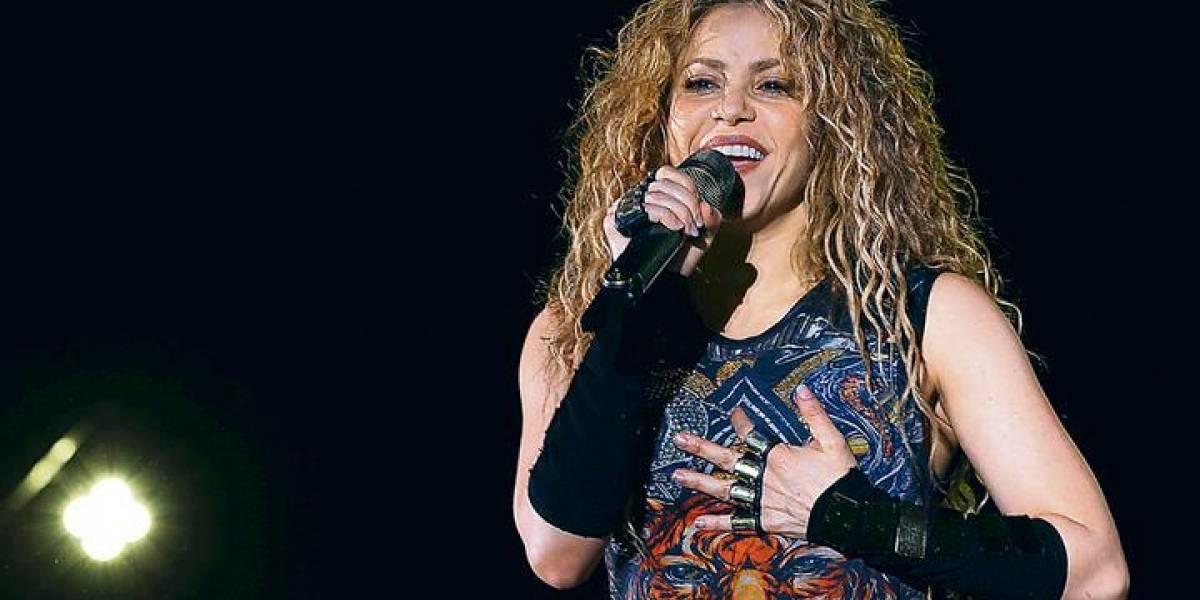 """Shakira canta en el """"Festival Internacional de Cedro"""" en El Líbano"""