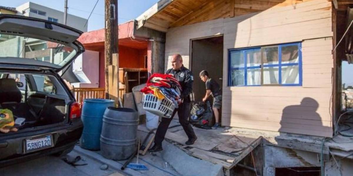 Desalojan 23 casas en colonia Reforma de Tijuana