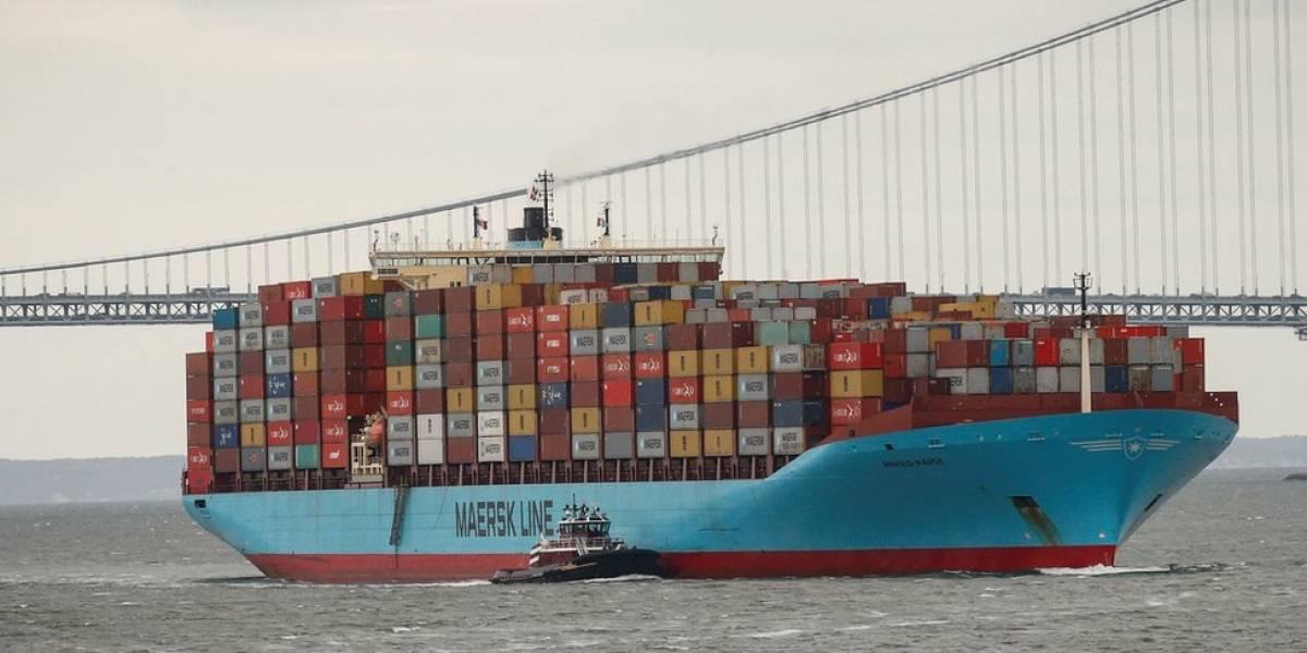 Por qué la naviera Maersk, la más grande del mundo, es la primera gran víctima de la guerra comercial entre Estados Unidos y China