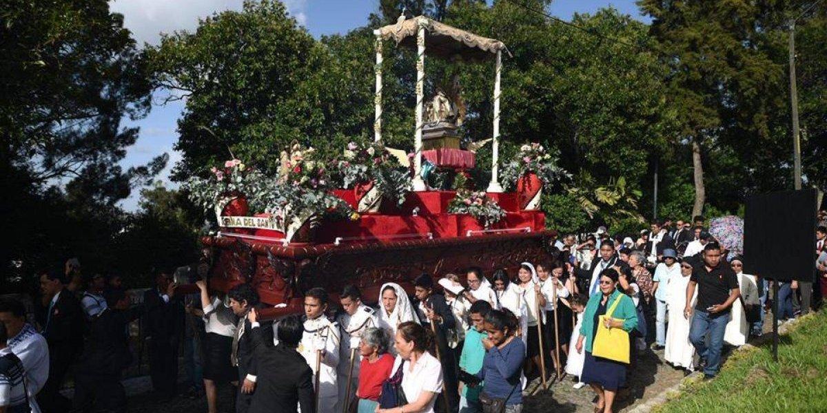 EN IMÁGENES. Virgen del Carmen recorre calles del Centro Histórico
