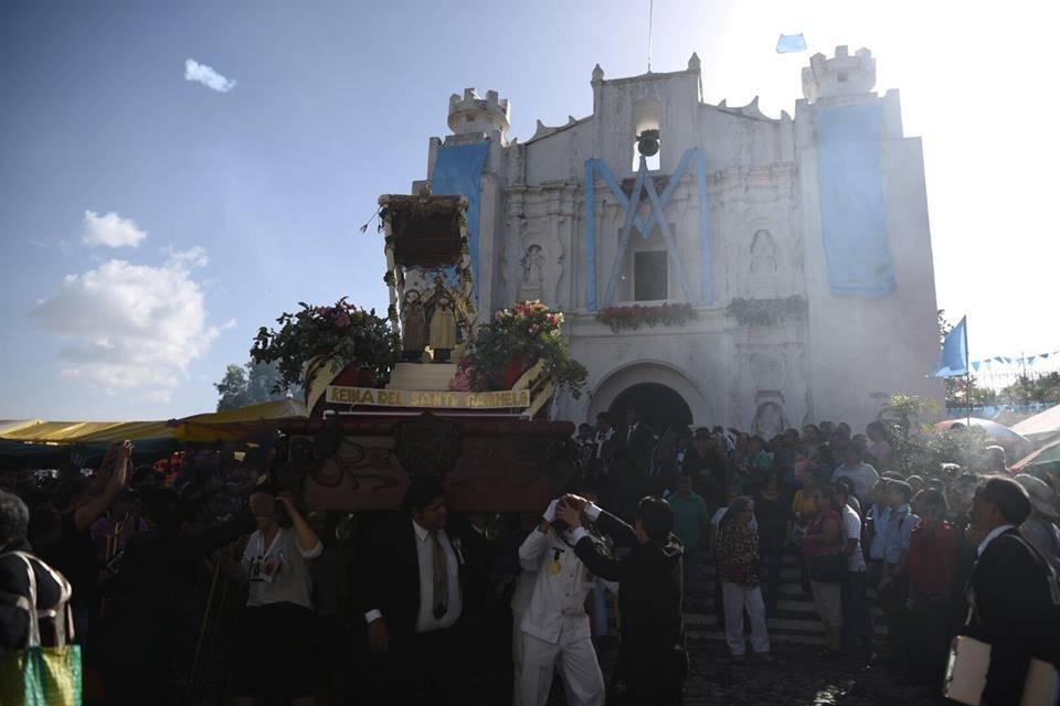 Procesión Virgen del Carmen Fotos: Edwin Bercián