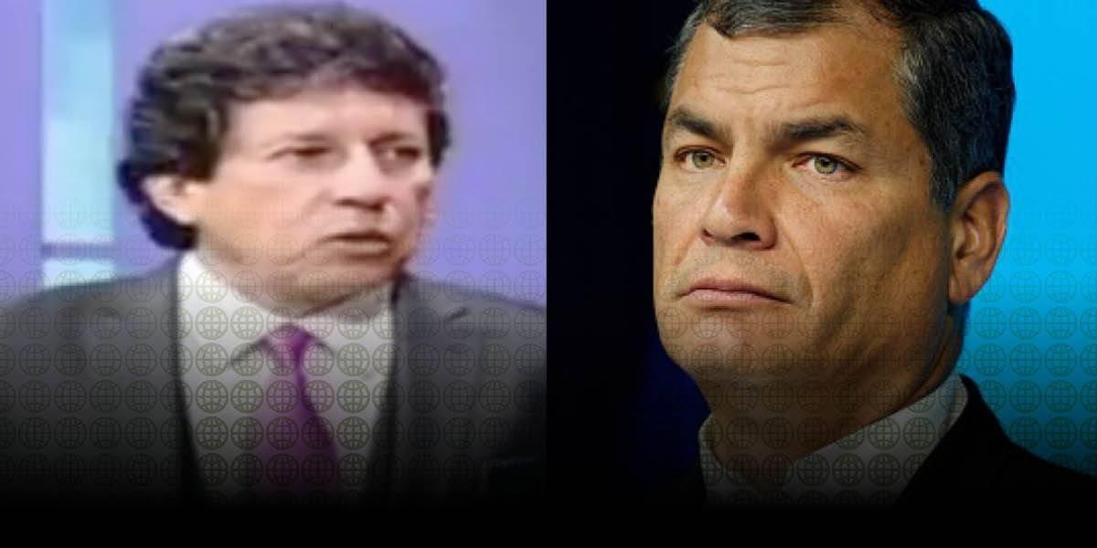 Rafael Correa no se presentó a diligencia en caso de Ramiro Cueva
