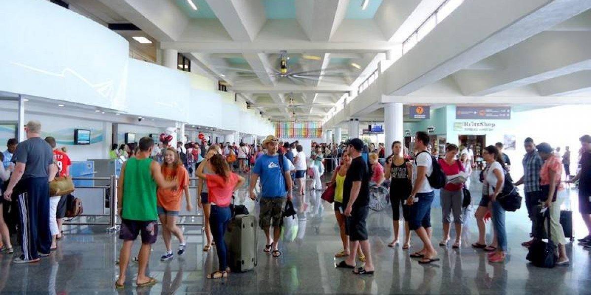 Llegada de turistas a RD aumentó 6,1 % en primer semestre de 2018