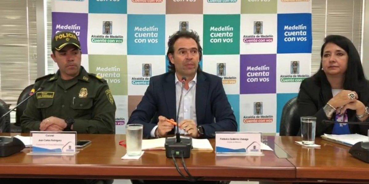 Los cabecillas capturados de las bandas criminales de Medellín fueron trasladados a Valledupar