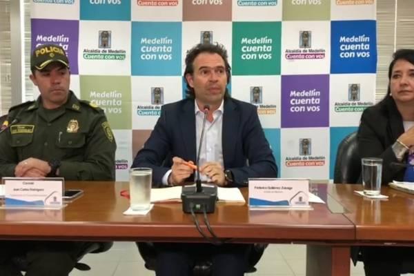 Alcalde de Medellín Federico Gutiérrez