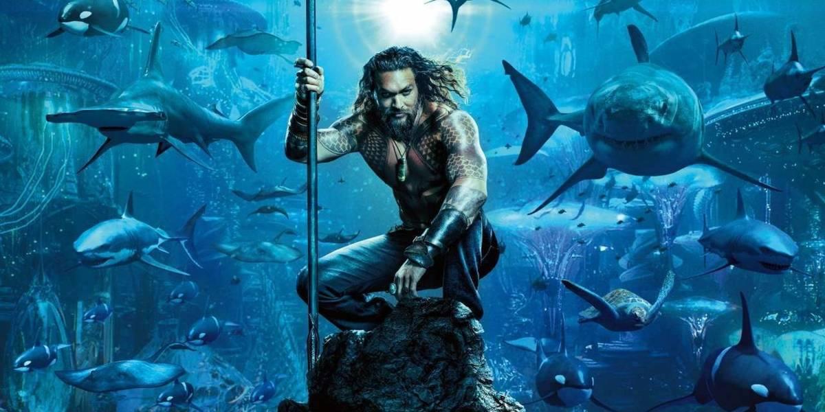 Primer póster oficial de la nueva película de Aquaman