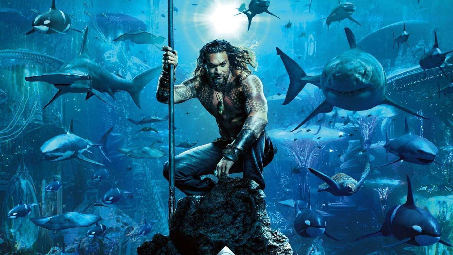 La película de Aquaman recibe póster y sinopsis oficial