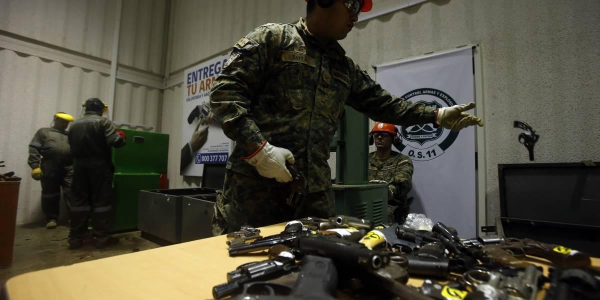 """""""Esto es muy grave"""": Más de 200 mil armas desaparecidas preocupan al gobierno"""