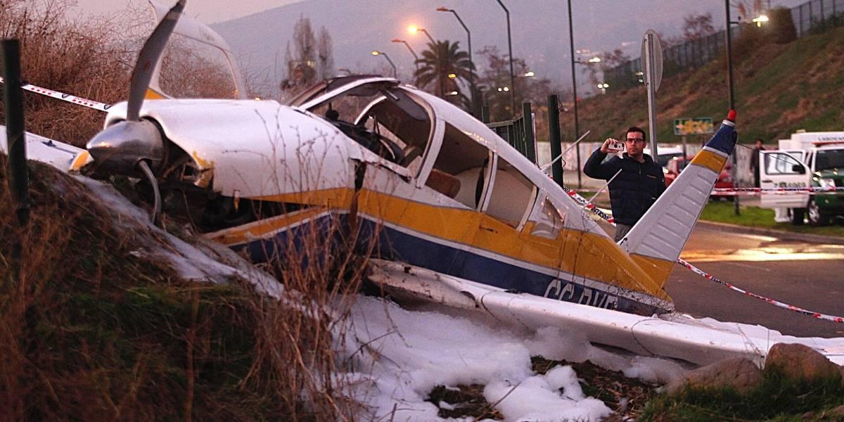 Falleció una de las pasajeras de avioneta caída en Peñalolén
