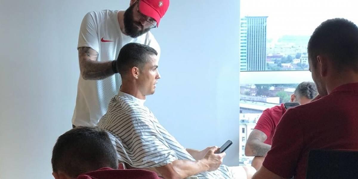 Conoce al peluquero, que atendió a Ronaldo y Quaresma en la Copa del Mundo