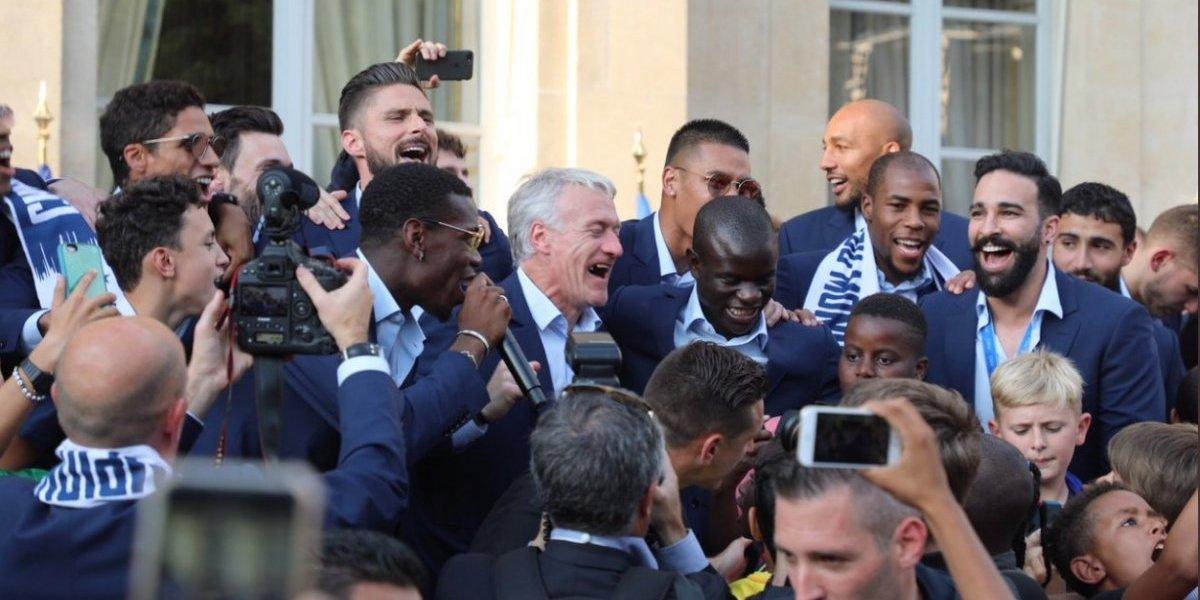 """""""Paró a Messi"""": El canto de moda en la celebración de Francia dedicado a N'Golo Kanté"""