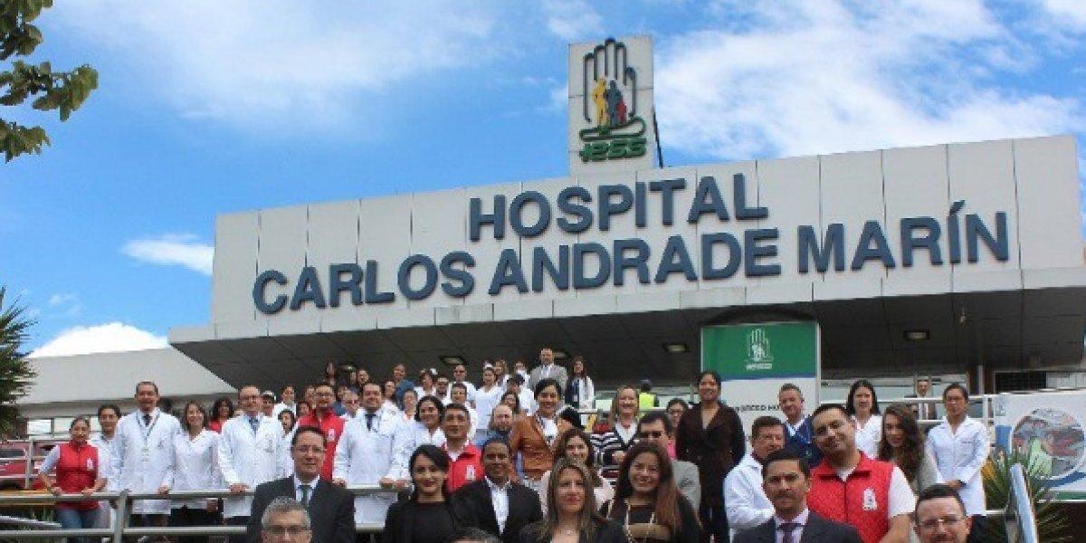 A partir del 16 de julio cada paciente ingresará solo al Hospital Carlos Andrade Marín, del IESS