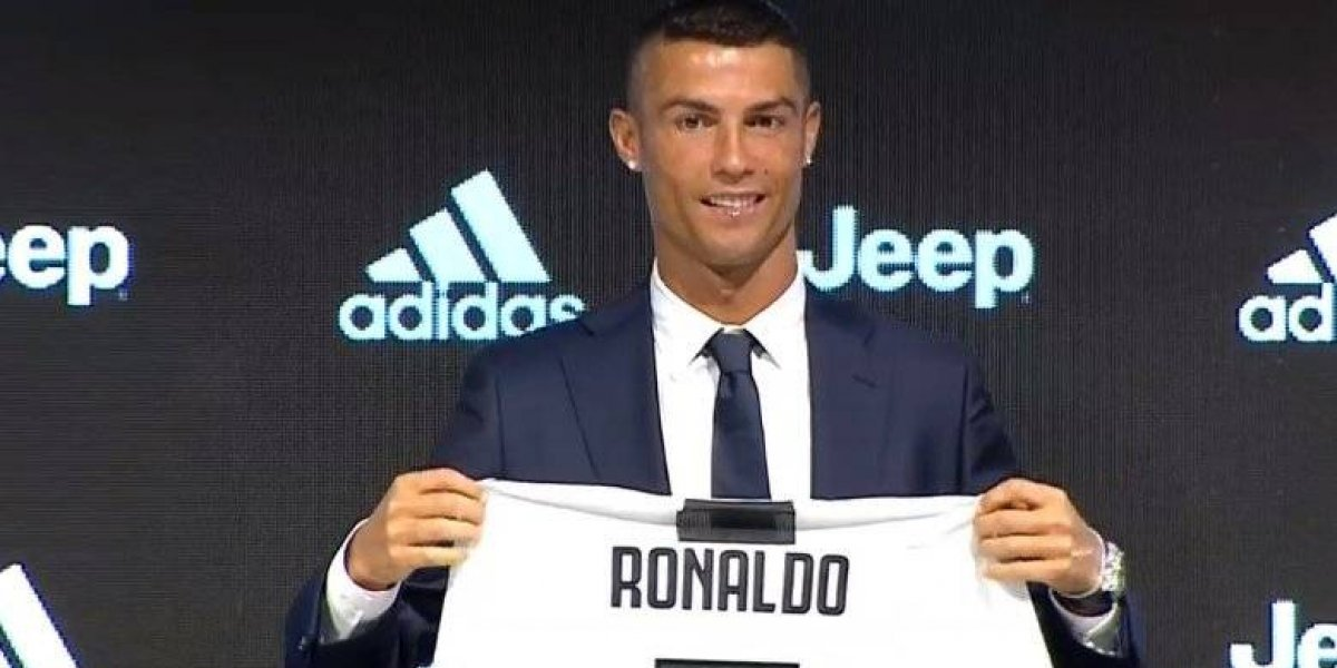 Cristiano Ronaldo da sus primeras declaraciones como jugador de la Juventus