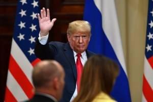 Donald Trump en Finlandia