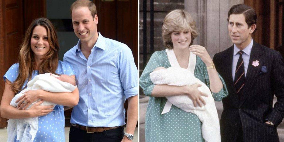La regla que rompió Diana con el nacimiento de sus hijos y aún sigue vigente